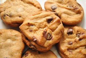 Close-Up of Chocolate Cookies
